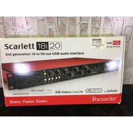Focusrite 18i20 Scarlett 2nd Gen Audio Interface