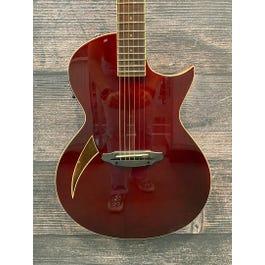 ESP LTD TL-6 Wine Red Thinline Acoustic-Electric Guitar