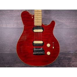 Sterling by Music Man SUB AX3FM Axis Super Sport (Trans Red)