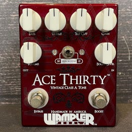 Wampler Ace Thirty Overdrive Guitar Pedal