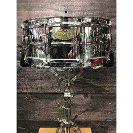 "Pearl Sensitone 5""x14"" Steel Snare Drum"