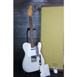 Fender Artist Series Jimmy Page Mirror Telecaster Electric Guitar White Blonde Lacquer