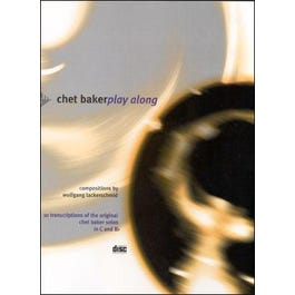 Jamey Chet Baker Play Along for Trumpet Book and CD