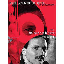 Advance Music Bergonzi Melodic Structures Book and CD Inside Improvisation Vol. 1