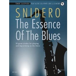 Jamey The Essence Of The Blues - Tenor Sax-Book & CD