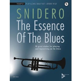 Jamey The Essence Of The Blues - Trumpet-Book & CD