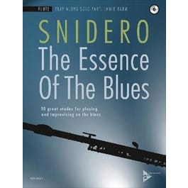 Jamey The Essence Of The Blues - Flute-Book & CD