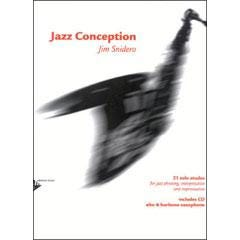 Image for Jazz Conception for Alto & Baritone Saxophone Book and CD from SamAsh