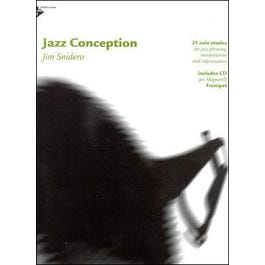 Advance Music Jazz Conception for Trumpet (Book/CD)