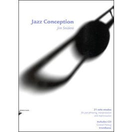 Advance Music Jazz Conception for Trombone Book and CD