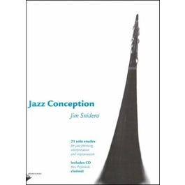 Jamey Jazz Conception For Clarinet Book and CD