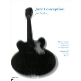 Jamey Jazz Conception for Guitar Book and CD