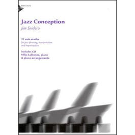 Jamey Jazz Conception for Piano Book and CD