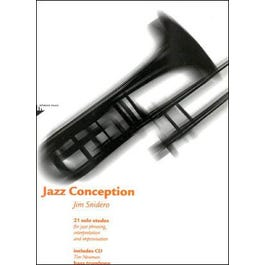 Jamey Jazz Conception for Bass Trombone (Book and CD)