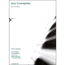 Jamey Jazz Conception for Piano Comping Book and CD