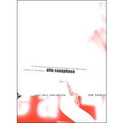 Image for Easy Jazz Conception for Alto and Baritone Saxophone Book and CD from SamAsh