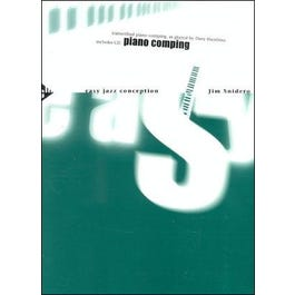 Jamey Easy Jazz Conception Piano Comping (Book and CD)