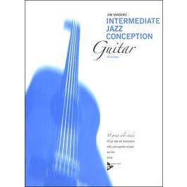 Aebersold Snidero-Intermediate Jazz Conception (Guitar)-Book & CD