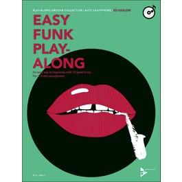 Jamey Easy Funk Play-Along - Alto Saxophone-Book/CD