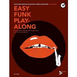 Jamey Easy Funk Play-Along - Tenor Sax-Book/CD