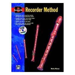 Image for Basix Recorder Method Book and CD from SamAsh