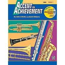 Alfred Accent on Achievement, Book 1 -  Oboe -Book & CD