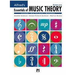 Image for Essentials of Music Theory - BOOK ONLY from SamAsh