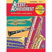 Alfred Accent on Achievement, Book 2 -Alto Clarinet-Book & CD