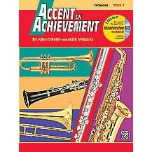 Alfred Accent on Achievement Book 2 for Trombone -Book & CD