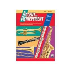 Image for Accent on Achievement Book 2 for Tuba -Book & CD from SamAsh