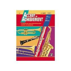 Image for Accent on Achievement Book 2 for Mallet Percussion and Timpani -Book & CD from SamAsh