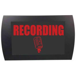 American Recorder 2002M RECORDING LED Indicator Sign, Red
