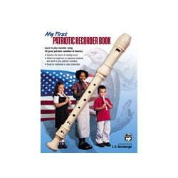 Image for My First Patriotic Recorder Book (Book only) from SamAsh
