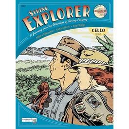 Alfred String Explorer Book 1 for Cello-Book & Interactive CD