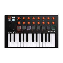 Image for MiniLab MKII 25-Key USB MIDI Controller (Orange Edition) from SamAsh