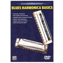 Image for Blues Harmonica Basics (DVD) from SamAsh