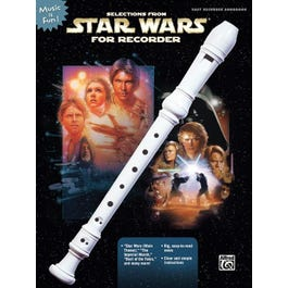 Alfred Selections from Star Wars for Recorder