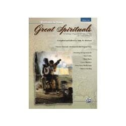 Image for Great Spirituals (Portraits in Song) for Low Voice (Book and CD) from SamAsh
