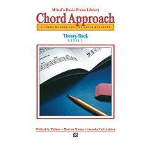 Image for Alfred's Basic Piano: Chord Approach Theory Book 1 from SamAsh