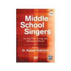 Image for Middle School Singers Turning Their Energy into Wonderful Choirs (DVD) from SamAsh