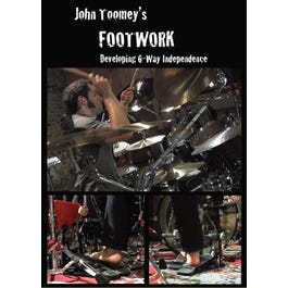 Image for John Toomey's Footwork (DVD) from SamAsh