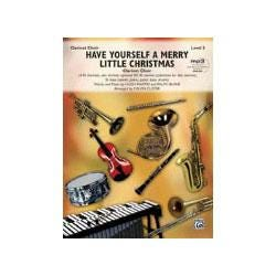 Image for Have Yourself a Merry Little Christmas (Clarinet Choir with Rhythm Section) from SamAsh