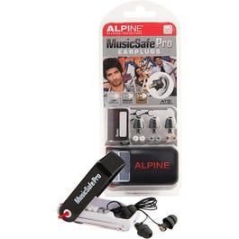 Alpine MusicSafe Pro Earplugs, Black