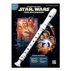 Image for Selections from Star Wars for Recorder (Book and Recorder) from SamAsh
