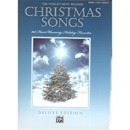 Image for The World's Most Beloved Christmas Songs (P/V/G) from SamAsh