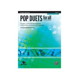 Image for Pop Duets for All (Revised and Updated) [B-Flat Clarinet, Bass Clarinet] from SamAsh