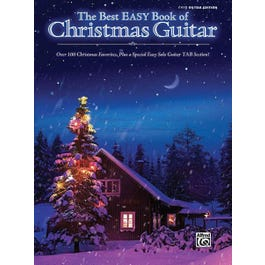 Alfred The Best Easy Book of Christmas Guitar TAB