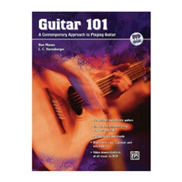 Image for Guitar 101 (Book and DVD) from SamAsh