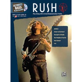 Image for Rush-,Ultimate Bass Play-Along (Book and CD) from SamAsh