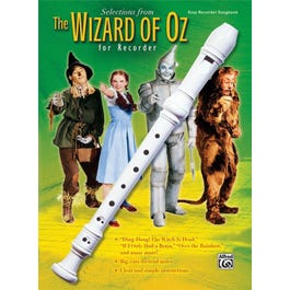 Alfred The Wizard of Oz for Recorder (Book and Recorder)